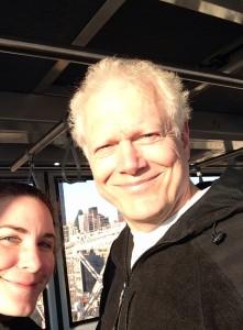 Gary tram selfie